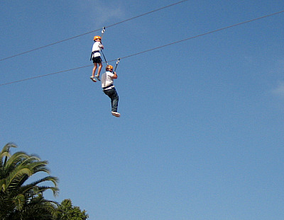 CANOPY and ZIP LINE TOURS in ENSENADA, BAJA CALIFORNIA