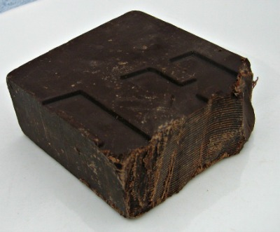 Barra de chocolate negro