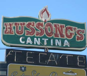 HUSSONGS CANTINA